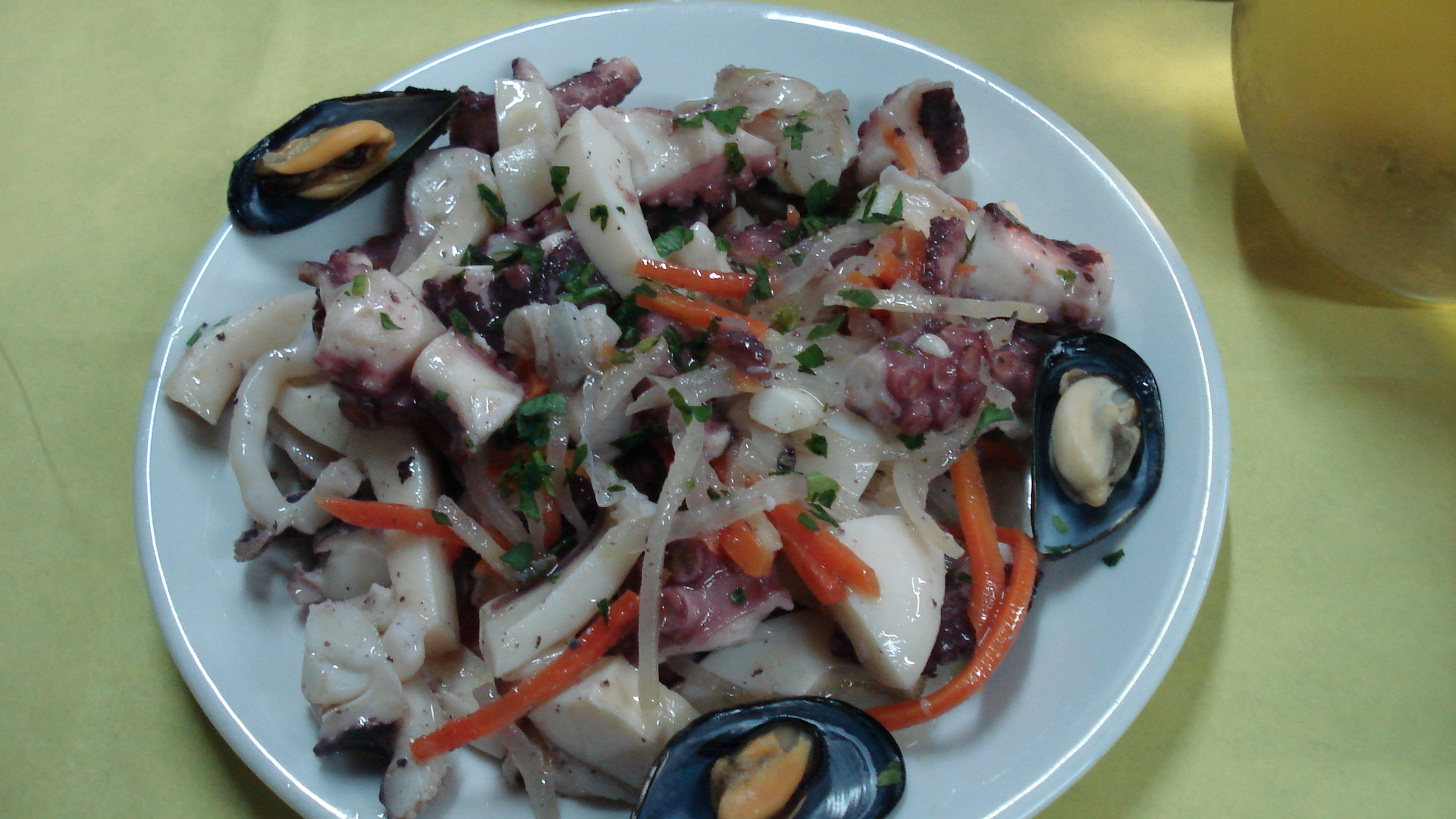 di mare seafood salad frutti di mare this rice and seafood salad is ...